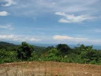 View from lot 6 Bella Vista Uvita Costa Rica