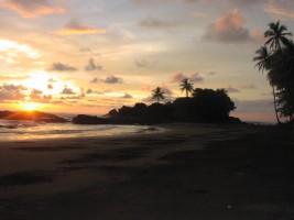 Costa Rica at Sunset
