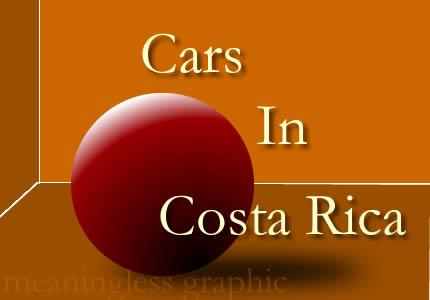 Cars in Costa Rica