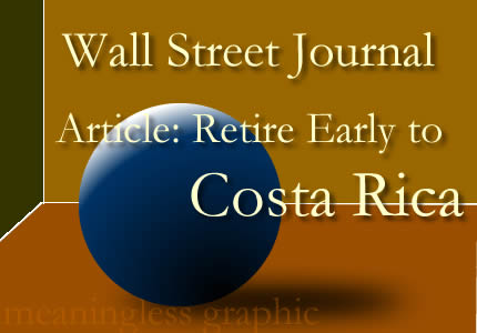 Comments and Criticisms of a Wall Street Journal Article.