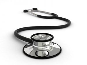 Photo of a stethoscope for the article on health insurance in Costa Rica