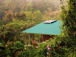 solar powered cabin in costa rica