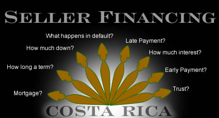 Seller financing in Costa Rica
