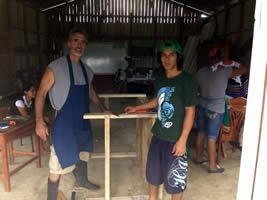 Costa Rica governmental education program on hydroponics.
