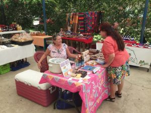 Diana - coordinator of the Uvita farmers market.